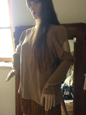 Zara Maglione color cammello