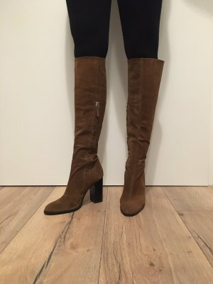 Zara Heel Boots multicolored