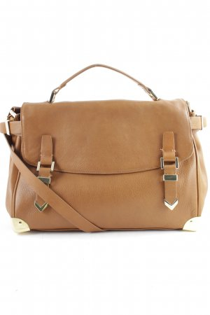 Zara College Bag light brown vintage look