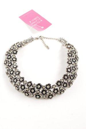 Zara Collar estilo collier color plata elegante