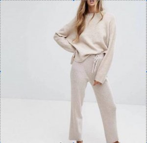 Zara Comfy Lounge Set high waist