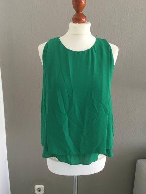 Zara cooles Top Bluse grün L NEU