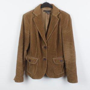 Zara Blazer brown cotton