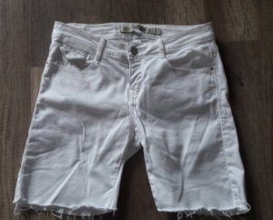 Zara Core Denim Shorts Bermuda Denim Jeans Cut off