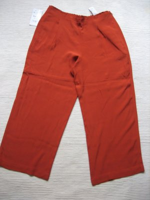 zara coulotte hose sommer neu gr. m 38, orange