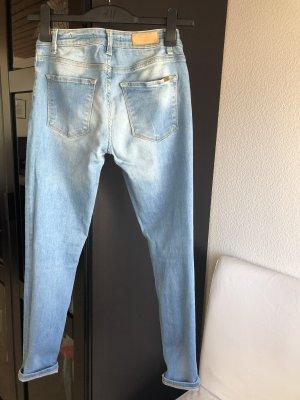 Zara Stretch jeans veelkleurig