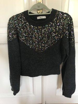 Zara Cropped Pullover