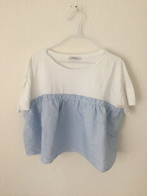Zara cropped Shirt kombiniert