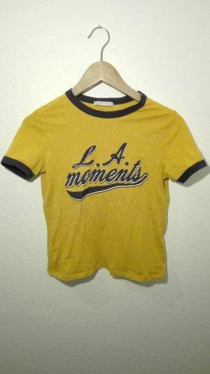 Zara cropped Shirt LA Moments