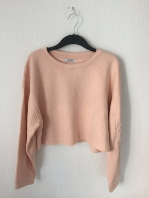 Zara cropped Sweater Rosa