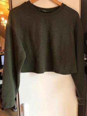Zara Cropped Sweatshirt