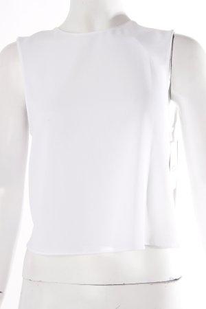 Zara Cropped Top weiß