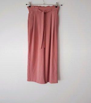 Zara Culotte Gr. XS / 34 rosa High Waist