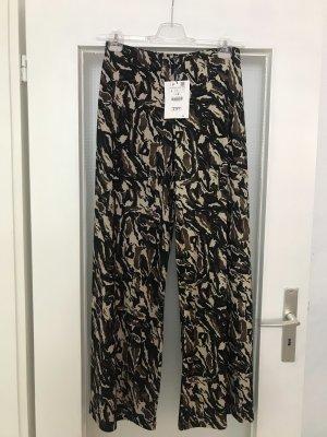 Zara Culotte Hose in Camouflage Design L