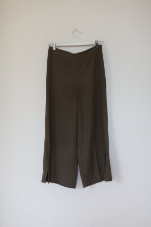 Zara Culotte in Khaki Hose Gr. S Blogger Vintage Look Chino