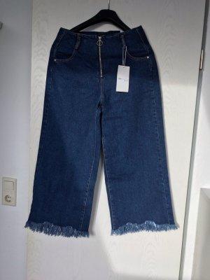 Zara Trafaluc Culottes blue