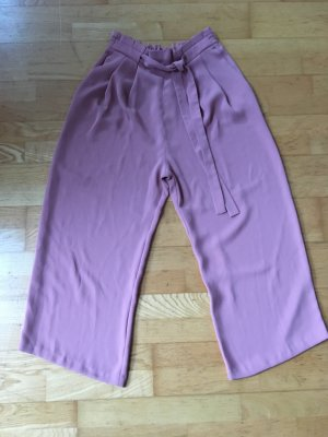 Zara Pantalone culotte color oro rosa