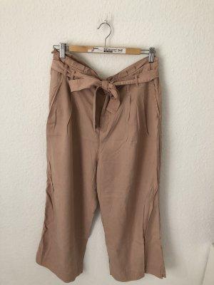 Zara Pantalone culotte rosa antico