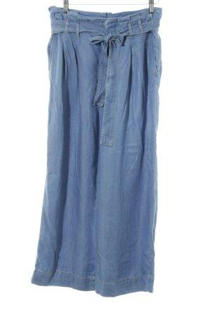 Zara Culottes blau Jeans-Optik