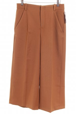 Zara Culottes camel schlichter Stil