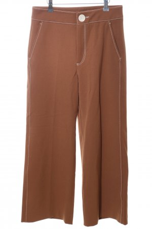 Zara Culottes braun Casual-Look