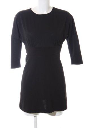 Zara Cut out jurk zwart casual uitstraling