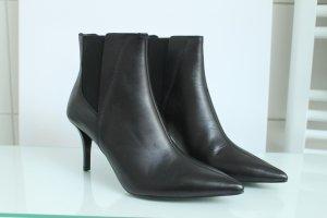 ZARA Damen Ankle Boots Stiefeletten Chelsea Leder Stiefeln Gr.40