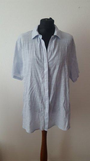Zara Damen Hemd Bluse Trafaluc Größe M hellblau