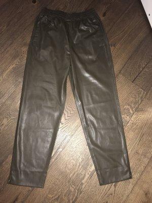 Zara Boyfriend Trousers ocher