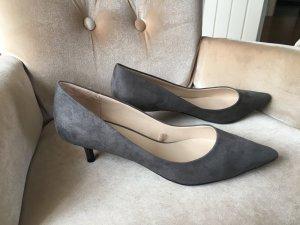 ZARA Damen Schuhe Pumps grau 40  Absatz 5 cm