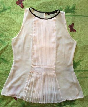 Zara Damen weiße Bluse in Gr.M einmal angezogen