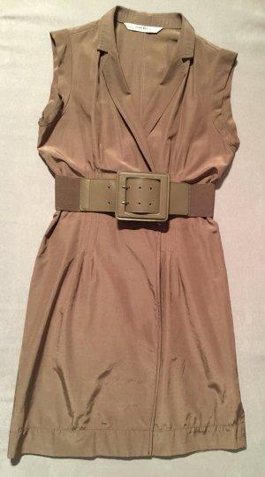 Zara Damen Winkelkleid mit Gürtel Gr. Large