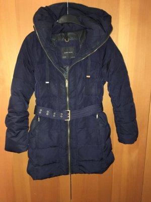 Zara Damen Winterjacke Dunkelblau Grösse:XL