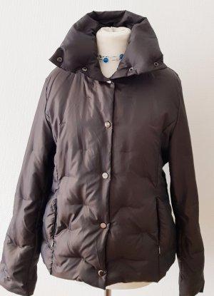 Zara Down Jacket black brown