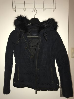 Zara Winter Jacket dark blue-black