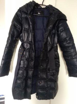 Zara Down Coat multicolored cotton