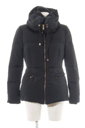 Zara Down Jacket black casual look