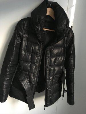 ZARA Daunenjacke schwarz Gr. XS 34