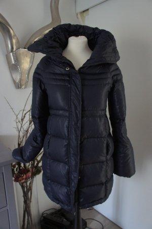 ZARA Daunenmantel Größe M 36 38 Mantel Jacke blau