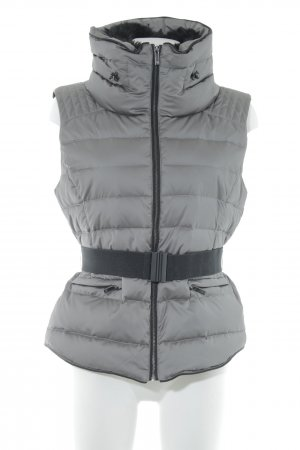 Zara Down Vest grey-taupe casual look