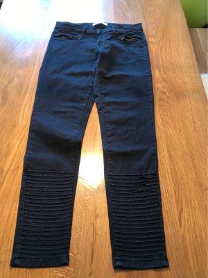 Zara Biker jeans zwart