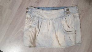 Zara Denim Rules TRF Minirock Jeansrock Größe 36 hellblau