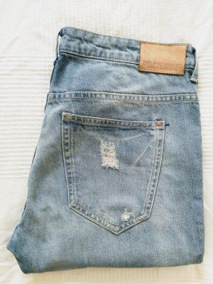 Zara Destroyed Boyfriend Jeans Gr. 40