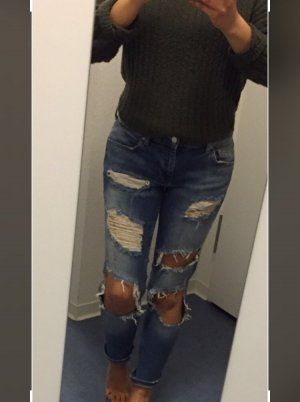 Zara Jeans slim multicolore