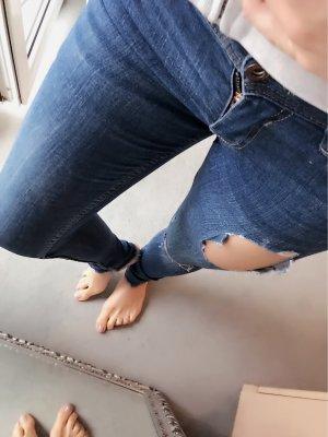 Zara destroyed skinny Jeans Gr. 34