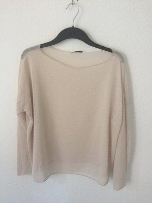 Zara dünner Pullover beige