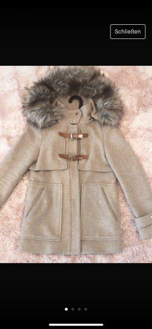 Zara dufflecoat