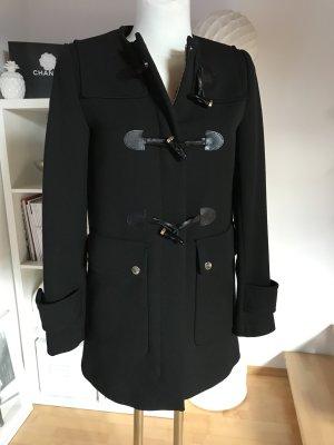 Zara Dufflecoat schwarz Kurzmantel Caban