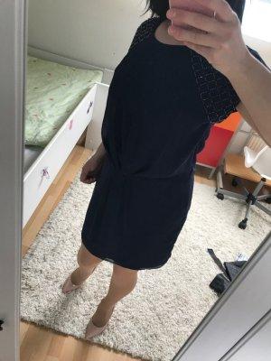 Zara dunkelblau Kleid
