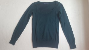 Zara - dunkelgrüner Wollpullover